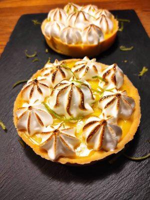 tartelette au citron meringuée