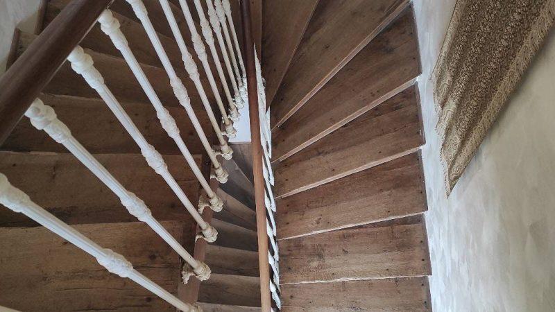 Montée D'escalier Vue D'en Haut